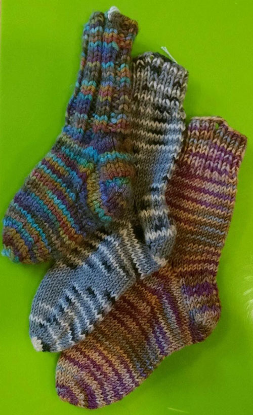 learn to knit socks knitting class workshop NYC