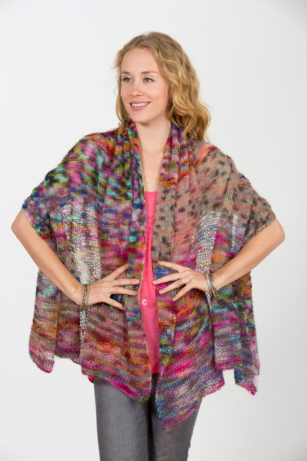 creative shawl knitting class workshop with Judith Rudnick Kane