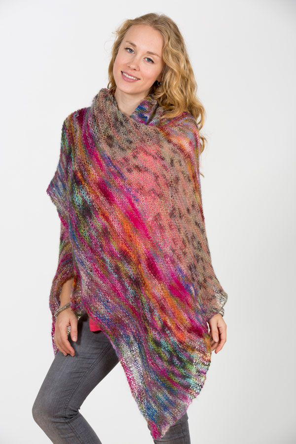 creative shawl knitting class workshop in NYC with Judith Rudnick Kane