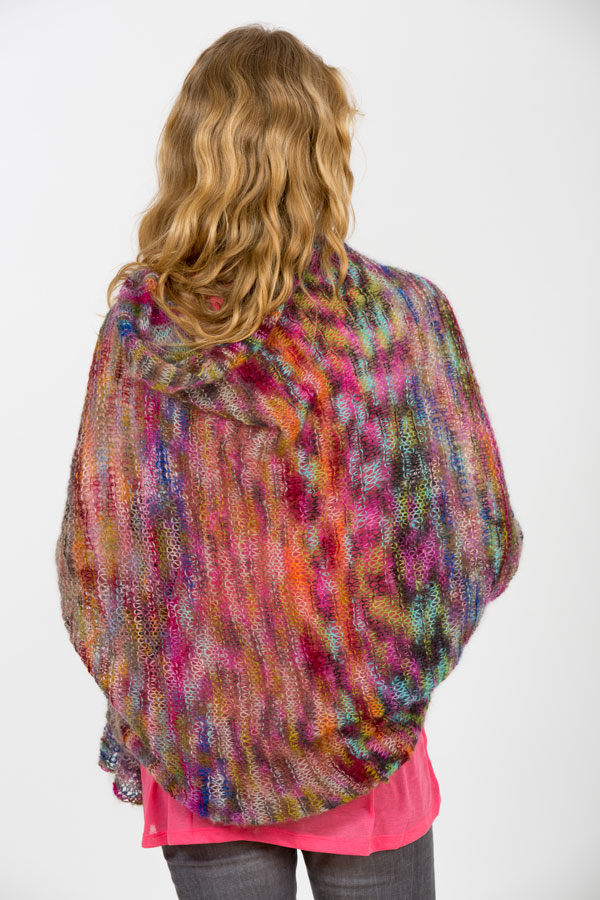Silk Mohair Creative Shawl knitting class workshop NYC